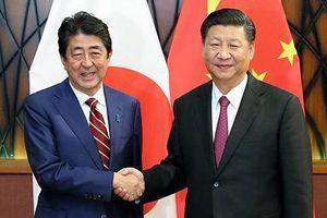 Lãnh đạo Trung - Nhật mong muốn thúc đẩy quan hệ đạt tiến triển mới
