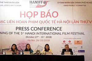 LHP Quốc tế Hà Nội lần thứ V nâng tầm điện ảnh Việt Nam lên một tầm cao mới