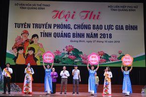 Hội thi tuyên truyền phòng, chống bạo lực gia đình tỉnh Quảng Bình năm 2018