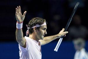 Thắng nhọc nhằn Gilles Simon, Roger Federer vào bán kết Basel Open