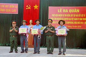 Gia Lai: Xuất quân tìm kiếm, quy tập, hồi hương hài cốt liệt sĩ