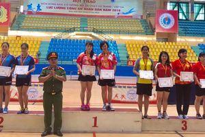 Hội thao Công an nhân dân năm 2018: Đoàn thể thao Công an TP Đà Nẵng đoạt 2 Huy chương Đồng
