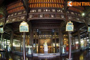 Nội thất khủng của bảo tàng từng là cung điện nhà Nguyễn