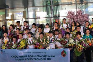 Học sinh VIệt Nam tự tin dự kỳ thi Thử thách nhà Toán học tương lai