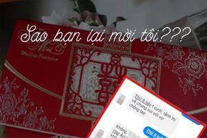 Nóng trên mạng xã hội: Khóc - cười chuyện được mời đám cưới