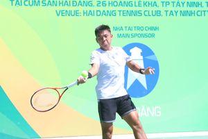 Lý Hoàng Nam lần đầu vào chung kết giải quần vợt nhà nghề 25.000 USD