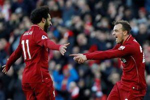 Tiếp tục bất bại, Liverpool lên ngôi đầu Ngoại hạng Anh