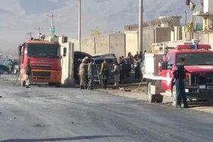 Đánh bom ở Afghanistan khiến ít nhất 20 người thương vong