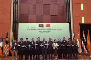 Hội nghị các Quan chức Cao cấp ASEAN - Trung Quốc về thực hiện DOC lần thứ 16