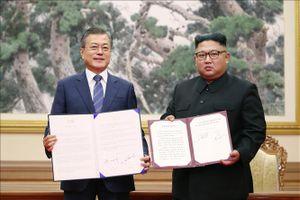 Thỏa thuận quân sự liên Triều chính thức có hiệu lực