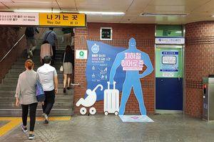 Tranh cãi chiến dịch giúp người lạ tại các nhà ga ở Seoul