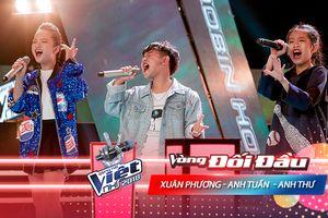 Anh Tuấn - Anh Thư - Xuân Phương khiến sân khấu Đối đầu 'chao đảo' với hit thanh xuân 'Áo xanh'
