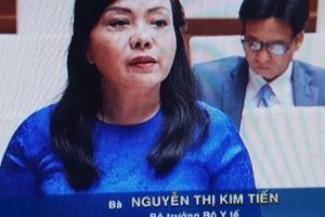 Bộ trưởng Bộ Y tế: Còn tình trạng quá tải bệnh viện