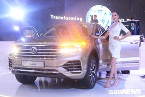 Siêu phẩm Touareg 2019 của Volkswagen tại Việt Nam Motor Show