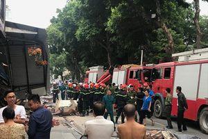 Quận Hoàn Kiếm thông tin về vụ sập nhà tại công trình khách sạn trên phố Lê Thái Tổ