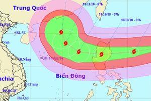 Siêu bão YUTU tiến vào Biển Đông, yêu cầu sẵn sàng ứng phó