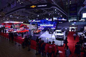 Chevrolet và màn trình diễn ấn tượng tại Triển lãm ô tô Việt Nam trước khi về tay VinFast