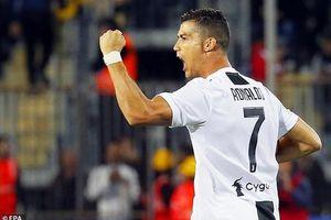 Ronaldo lập siêu phẩm, Juventus ngược dòng trước Empoli