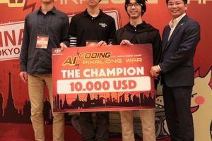 Nhóm sinh viên ĐH Tokyo đánh bại cả kỹ sư Google, Fujitsu,... về lập trình AI