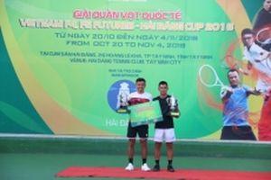 Hoàng Nam - Quốc Khánh vô địch đôi nam Vietnam F4 Futures