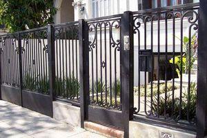 Làm tường rào bằng vật liệu nào chuẩn đẹp nhất?