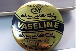 Lý do kem dưỡng ẩm Vaseline SH bị thu hồi khẩn