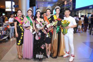 Minh Thảo rạng rỡ sau đăng quang Hoa hậu Doanh nhân Quốc Tế 2018