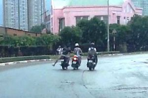 Cướp táo tợn trên đường phố Sài Gòn, 1 cô gái tử vong