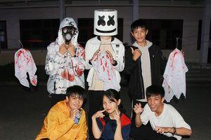 Giới trẻ thành Vinh ma mị trong đêm Halloween