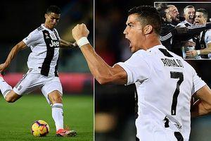 Ronaldo lập cú đúp, giải cứu Juventus