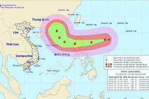 Sức gió mạnh nhất vùng gần tâm bão Yutu giảm xuống cấp 15
