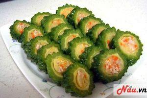 Mách bạn cách làm kimbap mướp đắng cực ngon, không bị đắng và giữ nguyên được vitamin có trong mướp đắng!