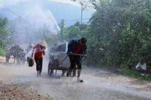 Dự báo thời tiết ngày 28/10, các tỉnh từ Hà Tĩnh đến Bình Định có mưa