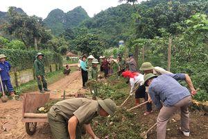 Ngày về cơ sở xây dựng nông thôn mới ở Mai Sơn