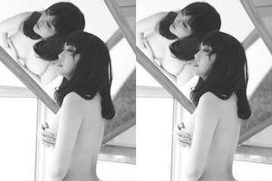 Xem Phi Thanh Vân dùng 1 tay che ngực hờ hững 'có như không'