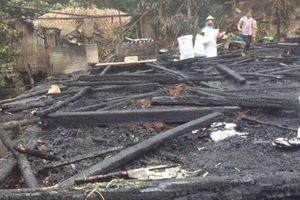 Hà Giang: Cháy cả căn nhà do bật lửa phát nổ