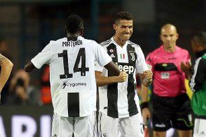 Ronaldo ghi siêu phẩm, Juventus nối lại mạch thắng ở Serie A