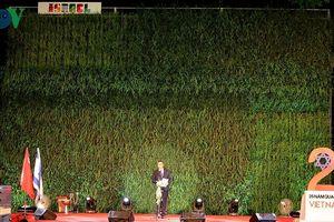 Israel giới thiệu công nghệ trồng lúa trên tường ở Hà Nội