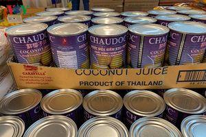 Thái Lan xuất khẩu phở Việt, nước dừa Châu Đốc, DN Việt ở đâu?