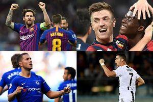 Cuộc đua 'Chiếc giày Vàng' châu Âu 18/19: Ronaldo bứt phá ngoạn mục