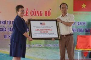 AFCP tài trợ 92.500 USD bảo tồn di sản văn hóa thế giới Thành Nhà Hồ