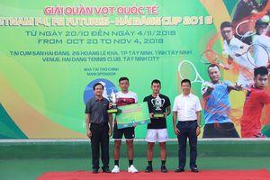 Lý Hoàng Nam, Lê Quốc Khánh vô địch đôi nam Vietnam F4 Futures