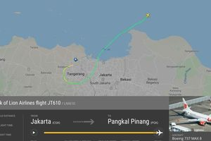 Tai nạn máy bay Indonesia, chưa xác định số phận khoảng 210 hành khách