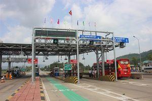 Ngày đầu tiên dừng thu phí Trạm BOT Bắc Bình Định