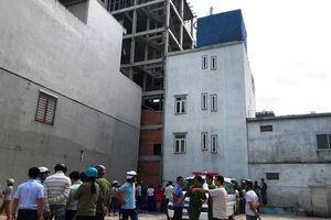 Đà Nẵng: Một công nhân rơi từ tầng cao xuống đất tử vong