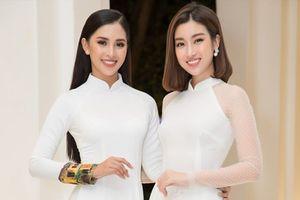 Hoa hậu Tiểu Vy, Đỗ Mỹ Linh lần đầu đọ sắc