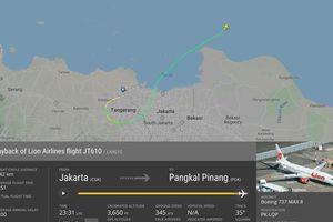 Đồ họa: Hành trình định mệnh của máy bay Lion Air trước khi rơi xuống biển