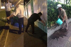 TPHCM: Mạnh tay xử lý nạn xả rác, tiểu bậy