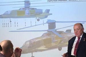 Trực thăng Nga bay nhanh ngang cường kích