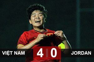 Thắng cả 3 trận vòng loại, U19 nữ Việt Nam giành quyền đi tiếp